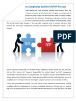 Sarbanes-Oxley Compliance and the RFI/RFP Process