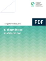 El Diagnostico Institucional