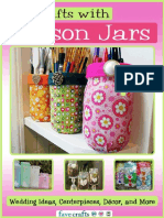 20 Crafts With Mason Jars Free eBook