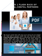 Quarter 1 Flash Back of Great Hill Dental Partners