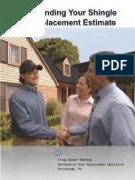 Understanding Your Roof Replacement Estimate