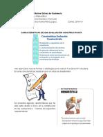 CARACTERISTICAS DE UNA EVALUACIÓN CONSTRUCTIVISTA.docx