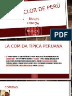 El Folclor de Perú