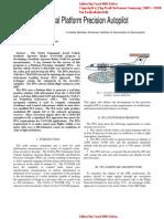 Aeronautical Platform Precision Autopilot by a Haider