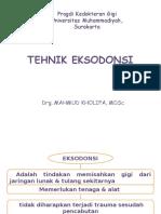 Tehnik Eksodonsi