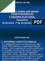 Reformas a La Constitucion