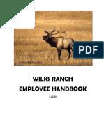 wilks ranch handbook
