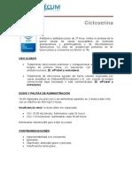 Cicloserina