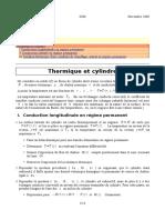 Thermique en Regime Stationnaire Avec Cylindre