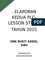Pelaporan Kedua Plc 2015