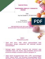 LPR+Faringitis Kronik
