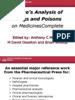 Medicinecomplete Clark Drug and Poison