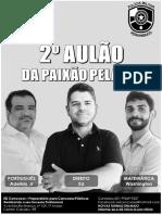 2º Aulão Da Paixão - Apostila