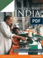 Contemporary India Economy, Society, Politics - Neera Chandhoke, Praveen Priyadarshi