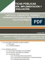 POLÍTICAS PÚBLICAS FORMULACIÓN, IMPLEMENTACIÓN Y EVALUACIÓN