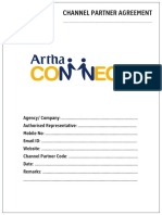 Artha Connect Agreement 2015
