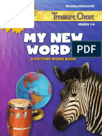 My New Words Picture Word Book g3-g6