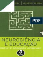 Neurociência e Educação. COSENZA, Ramon GUERRA, Leonor.