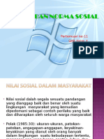Nilai Dan Norma Sosial (1)