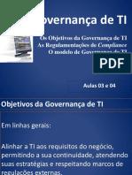 AULA - Governança de TI - 3 e 4