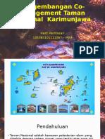 Co-Management Taman Nasional Karimunjawa