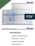 Bombas Sumergibles e Inmersibles