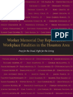 Houston Workers Memorial Day Report 2016 English
