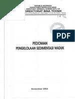 14) PEDOMAN. PENGELOLAAN SEDIMENTASI WADUK.pdf