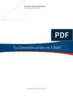 Desertificacion en Chile