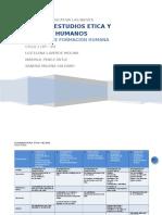 Etica y Valores Humanos Ciclo 1 Plan de Estudios Completo F2 y F3