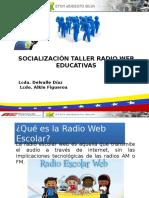 Presentacion Taller Radio Web
