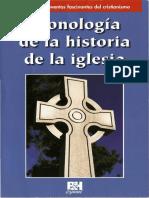 Cronología de La Historia de La Iglesia