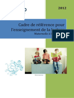 MERFIP Cadre de Reference - Lecture