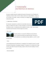 Estructura Social de Venezuela