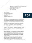 US Department of Justice Civil Rights Division - Letter - tal503a