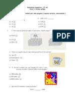 68749564 Matematica Teste Diagnostico 5º Ano