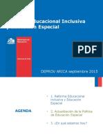 Ppt Reforma Educacional Inclusiva