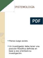 EPISTEMOLOGÌA