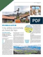 Puebloastur, una aldea convertida en hotel de lujo. (ABC, 22 de abril de 2016)