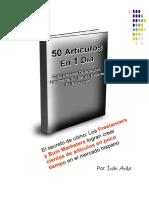 Como Crear 50 Articulos en Un Dia 001