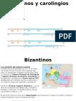 T 4 Bizantinos y Carolingios