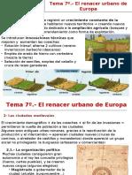 T 7 El Renacer Urbano de Europa
