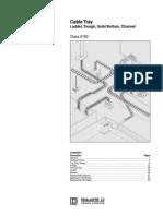 Cable Tray Selection Catalogue