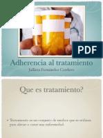 Adherencia al tratamiento medico