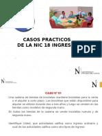 Casos Practicos de La Nic 18