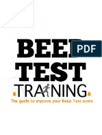 Beep Test Training