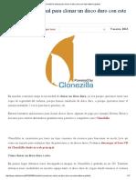 CloneZilla_ Manual Para Clonar Un Disco