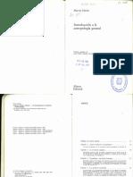125738788 Introduccion a La Antropologia General Marvin Harris PDF