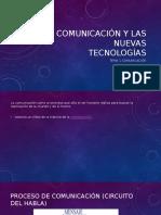 Comunicación y Las Nuevas Tecnologías