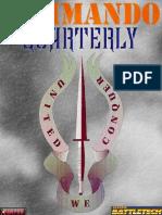 Battletech - Commando Quarterly Vol 1 Issue 1(#01) Summer 3067